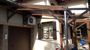 Elő tető gyártása