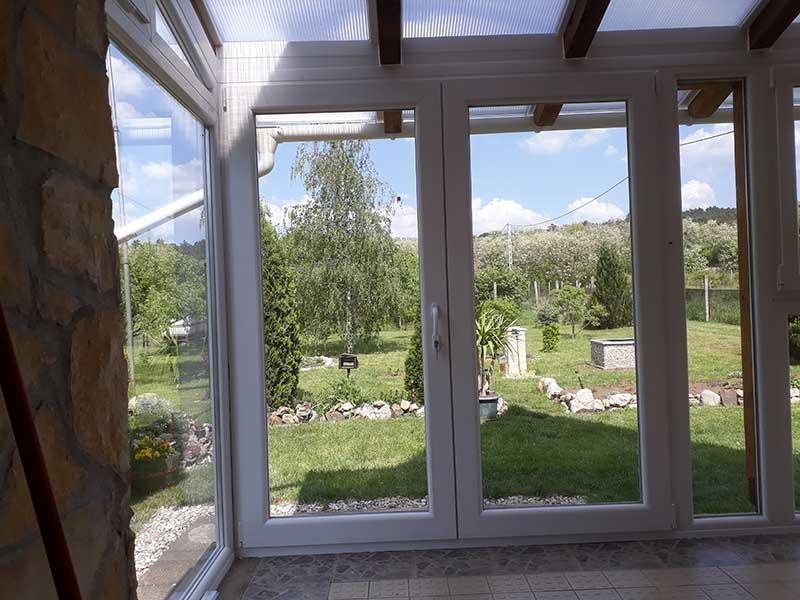 teraszbeépítés hőszigetelt üveggel